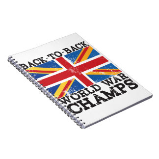 British World War Victory Notebook