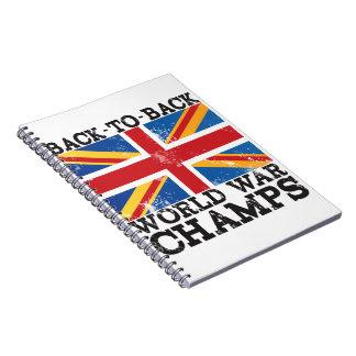 British World War Victory Notebooks