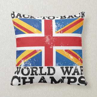 British World War Victory Throw Pillows