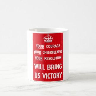 British WW2 Propaganda Classic White Coffee Mug