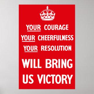 British WW2 Propaganda Poster