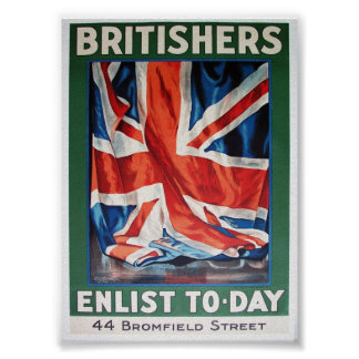 britishers enlist poster