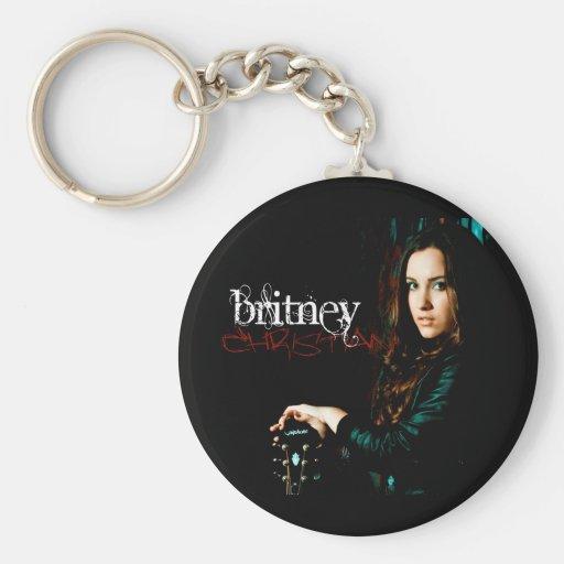 Britney Christian CD Cover Keychain