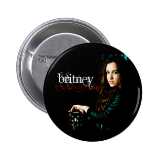 Britney Christian CD Cover Pin
