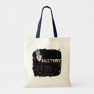 Britney Christian Lyrics Canvas Bags
