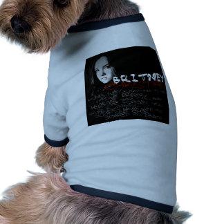 Britney Christian Lyrics Dog Tshirt