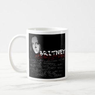 Britney Christian Lyrics Classic White Coffee Mug
