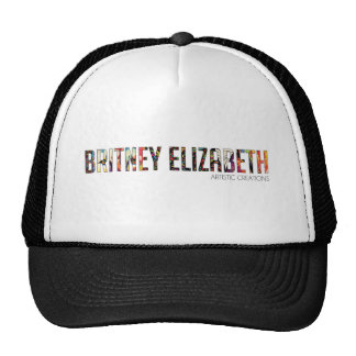 Britney Elizabeth Logo Trucker Hats