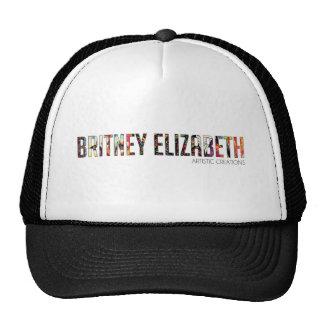 Britney Elizabeth Logo Trucker Hat