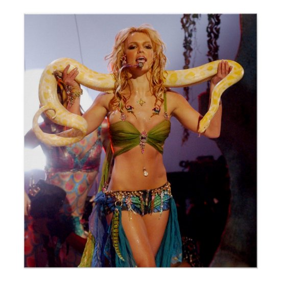 Britney Spears | 2001 MTV Music Awards Poster