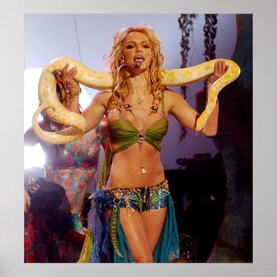 Britney Spears   2001 MTV Music Awards Poster