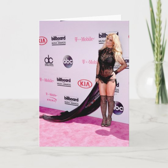 Britney Spears | 2016 Billboard Music Awards Card