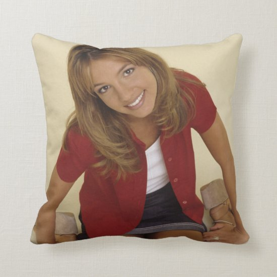 Britney Spears | A Cute Classic Britney Throw Pillow
