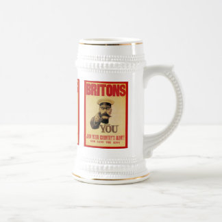 Britons: Join Your Country's Army! Beer Stein