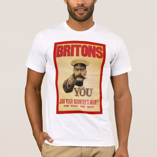 Britons: Join Your Country's Army! T-Shirt