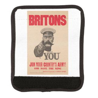 Britons Lord Kitchener Wants You WWI Propaganda Luggage Handle Wrap