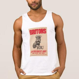 Britons Lord Kitchener Wants You WWI Propaganda Tank Top