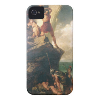 Britons repelling invading Romans iPhone 4 Cover