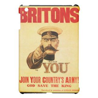 Britons Wants You, Lord kitchener iPad Mini Case