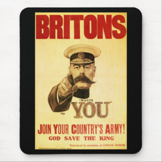 Britons Wants You, Lord kitchener Mouse Pad