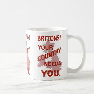 Britons! Your Country Needs YOU Coffee Mug