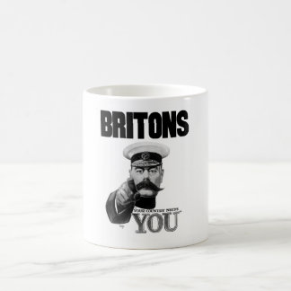 Britons Your Country Needs You - Lord Kitchener Classic White Coffee Mug