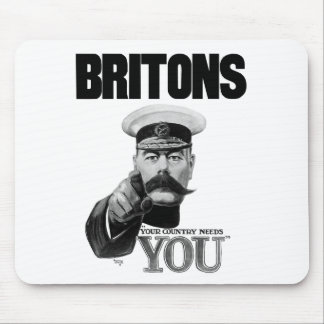 Britons Your Country Needs You - Lord Kitchener Mouse Pad