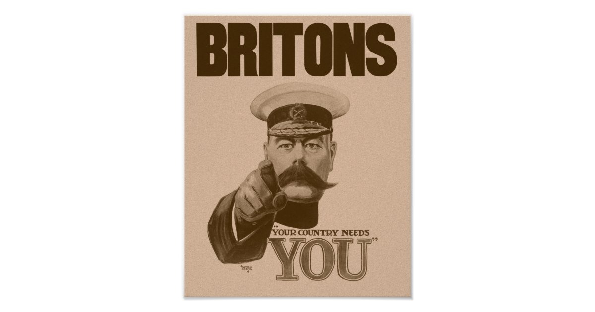 lord kitchener your country needs you Life