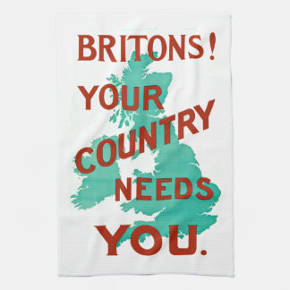 Britons! Your Country Needs YOU Towel