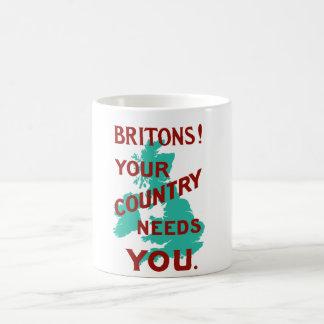 Britons Your Country Needs You -- WWI Coffee Mug