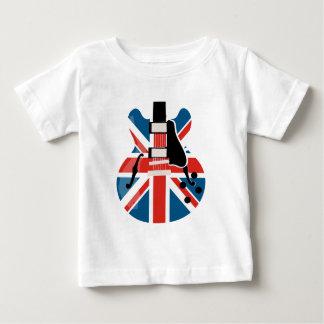 Britpop Guitar Baby T-Shirt