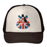 Britpop Guitar Hats