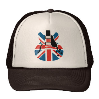 Britpop Guitar Trucker Hat