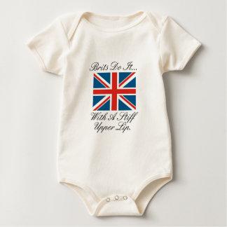 Brits Do It... With A Stiff Upper Lip Baby Bodysuit