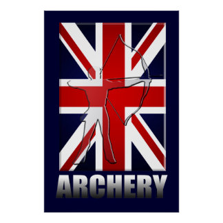Britsh Archery fans and Archers Toxophilite Poster