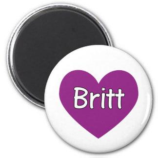 Britt 2 Inch Round Magnet