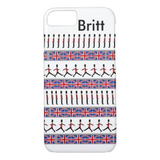 Britt and Union Jack iPhone 7 Case