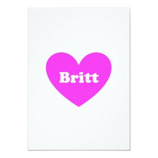Britt Card