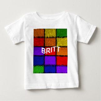 BRITT ( female names ) Baby T-Shirt