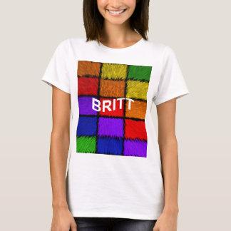 BRITT ( female names ) T-Shirt