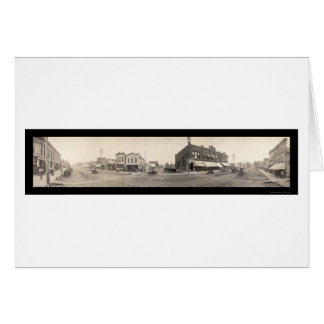 Britt, IA Photo 1908 Card
