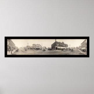 Britt, IA Photo 1908 Poster