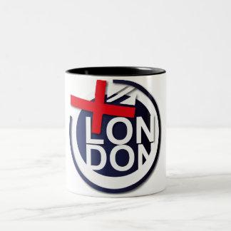 BRITT LONDON TEACUP TAZA DE DOS TONOS