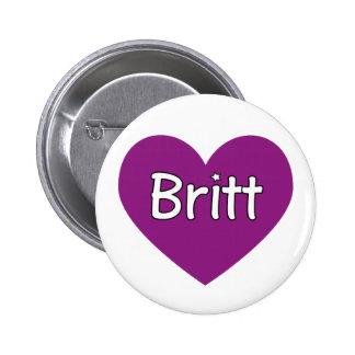 Britt Pin Redondo De 2 Pulgadas