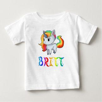 Britt Unicorn Baby T-Shirt