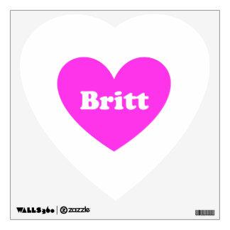 Britt Wall Decal