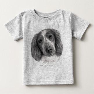 Britt, Welsh Springer Spaniel Baby T-Shirt