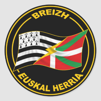 Brittany and Basque Sticker