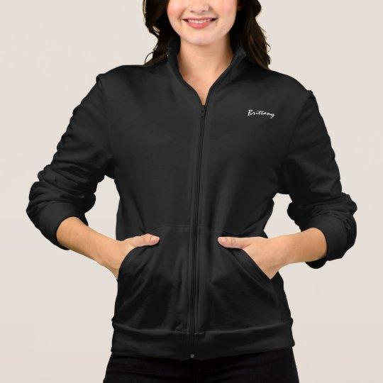 Brittany black long sleeve t-shirts