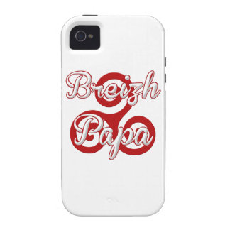 Brittany breizh dad Case-Mate iPhone 4 cover